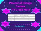 Percent Change Activity 7.RP.3.A