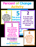 Percent Change Around the Room Activity