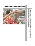 Percent Change: Discounts