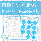 Percent Change Maze Activity - Aligned to CCSS 7.RP.A.3