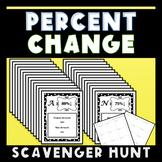 Percent Change Scavenger Hunt 7.RP.3