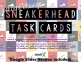 Percent Change Task Cards - Sneakerhead Edition (Google Sl
