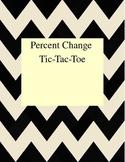Percent Change Tic-Tac-Toe