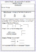 Percent Change and Percent Error - Notes and Worksheet