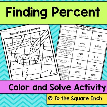 Percent Color and Solve