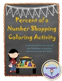 Percent Coloring Activity:  Sales Tax, Discount, Interest, Percent of Change