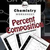 Percent Composition - Chemistry Worksheet