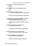 Percent Composition, Empirical Formulas, and Molecular Formulas Worksheet