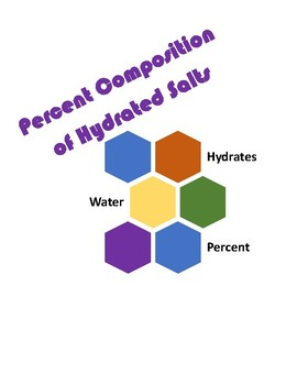 Percent Composition of Hydrates