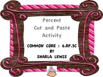 Percent Cut and Paste Activity
