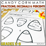 Halloween Math: Converting Fractions, Decimals and Percents