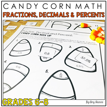 Finding Equivalent Percents Decimals and Fractions: Candy