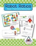 Percent, Decimal, and Fraction:  Robot Ratios
