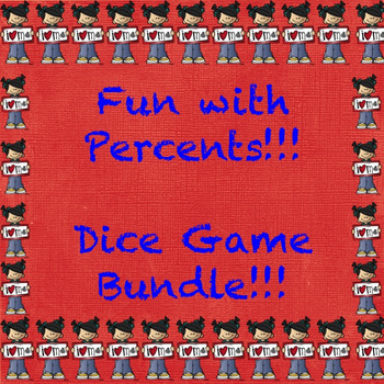 Percent Dice Game Bundle!!!