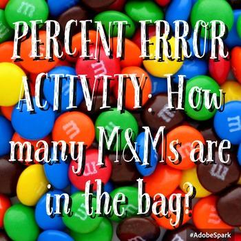 Percent Error Activity