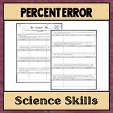Percent Error Worksheet