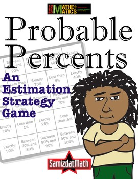 Percent Estimation Strategy Game: Fraction to Decimal -> Probable Percentages