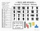 Percent-Fraction-Decimal Conversions Roll and Answer Math Game