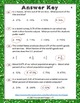 Percent, Fraction, Decimal Test