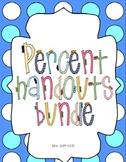 Percent Handout Bundle