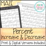 Percent Increase and Decrease Maze