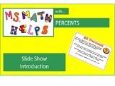 Percent Introduction Slide Show