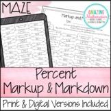 Percent Markup and Markdown Maze