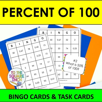 Percent Of 100 Bingo