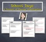 Percent Of Change Increase Decrease Novel Investigation &