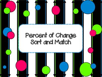 Percent Of Change Sort