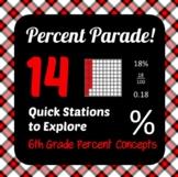 Percent Parade - 6th Grade Percent Concepts - Active Math