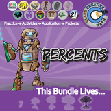 Percent -- Pre-Algebra Curriculum -- Essential Unit Bundle