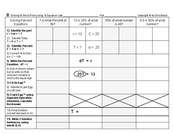 Percent & Price 03: Solving Percent Word Problems using the Percent Equation