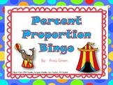 Percent Proportion BINGO Game