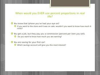 Percent Proportion Bundle