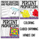 Percent Proportion and Equation Activity Pack - Distance Learning