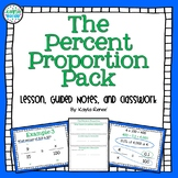 Percent Proportion Pack: 7.RP.3