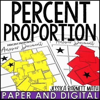 Percent Proportion Puzzle Activity