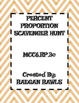 Percent Proportion Scavenger Hunt