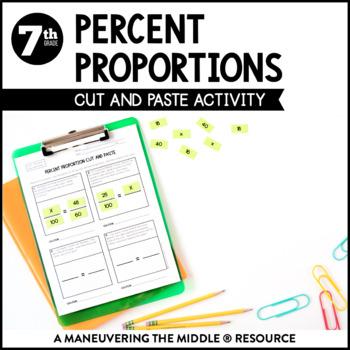 Percent Proportions