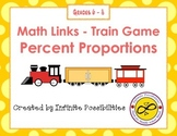Percent Proportions Math Links Game
