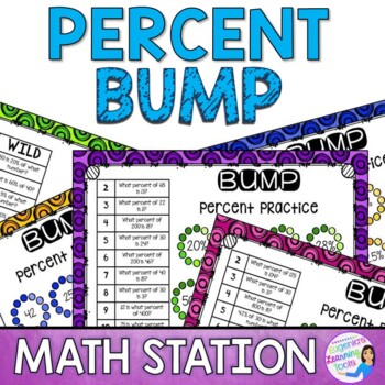 Percent Proportions Math Station Bump