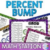 Percent Proportions Math Station Bump
