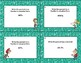 Percent Review-Converting Rational Numbers-Grades 6-8 32 Task Cards