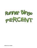 Percent Runner Bingo