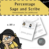 Percent Sage and Scribe