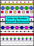 Percent Sentences Color by Number Aztec