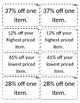 Percent Shopping Spree (Discount and Taxes)