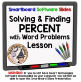 Percent Solving Percents Finding Percent of a Number Smartboard Lesson