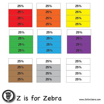Percent Square Clip Art 425 Images - Commercial Use OK! ZisforZebra